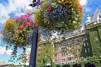 Flowers, Empress Hotel, Victoria, British Columbia Fine Art Print