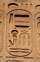 Hieroglyphics, Obelisk, Ramses II, Temple of Luxor, Egypt Fine Art Print