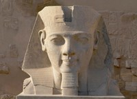 Ramesses II, New Kingdom, Temple of Luxor, Egypt Fine Art Print