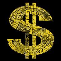 Dollar Sign (Slang terms for Money) Fine Art Print