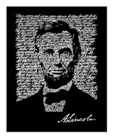 Abraham Lincoln (Gettysburg Address) Fine Art Print