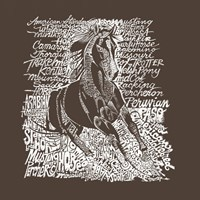 Horse (Popular Horse Breeds) Fine Art Print