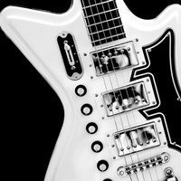 Classic Guitar Detail II Fine Art Print