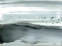 Silver Silence: Dappled Shore Fine Art Print