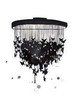Butterfly Chandelier Fine Art Print