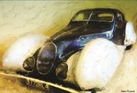 1937 Talbot Lago Fine Art Print