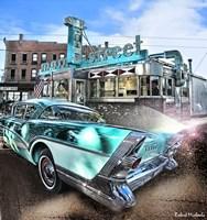 Buick Super Riveria 1957 Fine Art Print