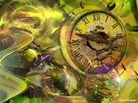 Fractal Time Fine Art Print