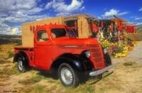 Red Chili Truck Fine Art Print