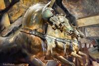 The Horses of San Marcos Fine Art Print