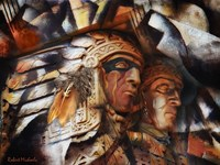 Two Native Americans Fine Art Print
