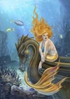 Sunlit Seas Fine Art Print