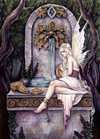 Fairy Wishing Well Fine Art Print
