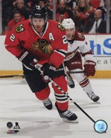 Duncan Keith 2014-15 Action Framed Print