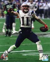 Julian Edelman Super Bowl XLIX Action Fine Art Print