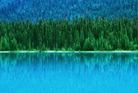 Emerald Lake Boathouse, Yoho National Park, British Columbia, Canada (horizontal) Fine Art Print