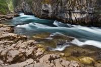 Maligne River, Maligne Canyon, Jasper NP, Canada Fine Art Print