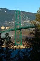 British Columbia, Vancouver, Lion's Gate Bridge Fine Art Print