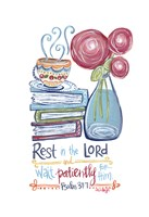 Rest in The Lord Fine Art Print