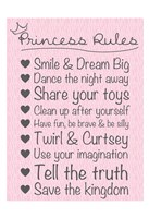 Princess Rules Soft Fine Art Print