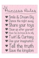 Princess Rules Soft Fine Art Print