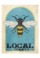 Retro Bee Fine Art Print