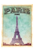 Paris Cover Framed Print