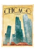 Chicago Cover Framed Print