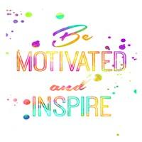 Be Motivated Framed Print
