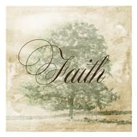 Faith Tree Framed Print