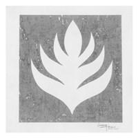 Pewter Fire II Framed Print
