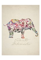 Elephant Set 01 Fine Art Print