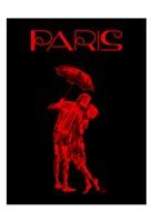 Paris Magazine II Framed Print