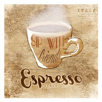 Italy Espresso Fine Art Print