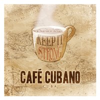 Cafe Cubano Fine Art Print
