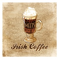 Irish Coffee Framed Print