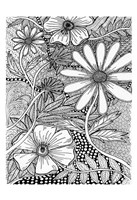 Wild Daisys Fine Art Print