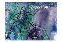 Aqua Life 1 Fine Art Print