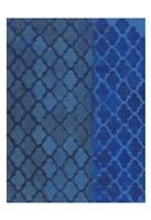 The Quatrefoil Blues Fine Art Print