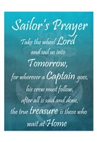 Sailor's Prayer Framed Print