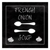 French Onion Soup Framed Print