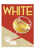 Retro White Fine Art Print