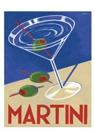 Retro Martini Fine Art Print