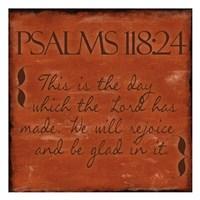 Psalms 118-24 Framed Print