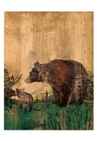 Hunting 1 Fine Art Print