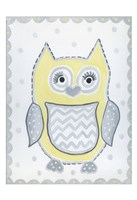 Gray Owl Fine Art Print