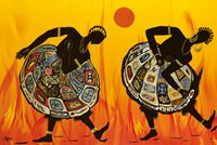 Two Dancing Women Fine Art Print