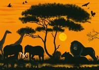 Okawango Park Fine Art Print