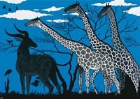 Maasai Mara Park Fine Art Print