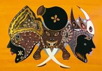 Bantu Mask Fine Art Print